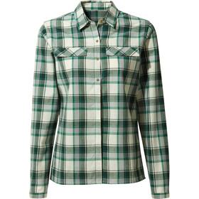 Craghoppers Dauphine Longsleeve Shirt Dames, verde check